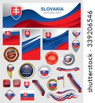 made in slovakia seal... | Shutterstock .eps vector #339206546