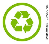 recycle vector icon. style is...