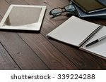 Open Notebook  Tablet Computer  ...