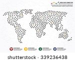 world map connection | Shutterstock .eps vector #339236438