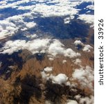view from an airplane over... | Shutterstock . vector #33926
