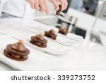 close up of professional pastry ... | Shutterstock . vector #339273752