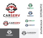 car service garage logo  shop...   Shutterstock .eps vector #339286952