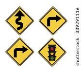 traffic signals design  vector... | Shutterstock .eps vector #339291116