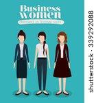 business people design  vector... | Shutterstock .eps vector #339292088