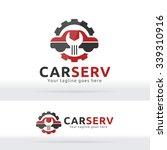 car service garage logo  shop...   Shutterstock .eps vector #339310916