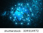 technology abstract background  ... | Shutterstock . vector #339314972