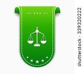 scale green vector icon design | Shutterstock .eps vector #339320222
