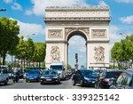 paris  may 22 2015 a lot of... | Shutterstock . vector #339325142