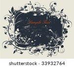vector flower | Shutterstock .eps vector #33932764