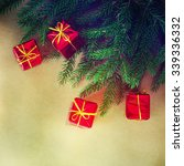 christmas gifts | Shutterstock . vector #339336332