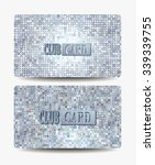 club textured cards | Shutterstock .eps vector #339339755