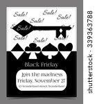 black friday sale in wonderland ... | Shutterstock .eps vector #339363788