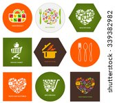 set of design concept icons for ... | Shutterstock .eps vector #339382982
