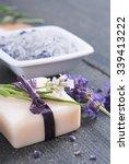 different cosmetic creams  bath ... | Shutterstock . vector #339413222