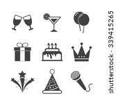 party icons | Shutterstock .eps vector #339415265