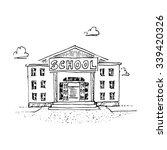 school building. vector... | Shutterstock .eps vector #339420326