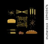 vector healthy grain food icon... | Shutterstock .eps vector #339435476