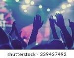 popular music concert. | Shutterstock . vector #339437492