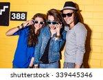 lifestyle portrait of beautiful ... | Shutterstock . vector #339445346