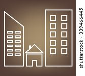 real estate  line icon | Shutterstock .eps vector #339466445