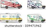 modern caravan. detailed... | Shutterstock .eps vector #339471962