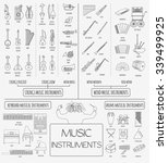 musical instruments graphic...   Shutterstock .eps vector #339499925