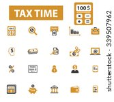 tax time  accounting ... | Shutterstock .eps vector #339507962