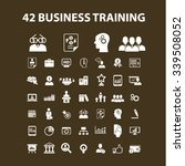 business training  webinar ... | Shutterstock .eps vector #339508052