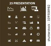 presentation  chart  diagram ... | Shutterstock .eps vector #339508982