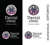 dental clinic logo. set... | Shutterstock .eps vector #339528452