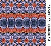 vector seamless ornate pattern. ... | Shutterstock .eps vector #339529052