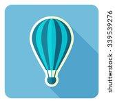 hot air balloon. vector... | Shutterstock .eps vector #339539276
