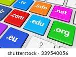 website and internet domain...   Shutterstock . vector #339540056