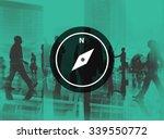 compass navigation discover... | Shutterstock . vector #339550772