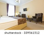 interior of a hotel apartment   | Shutterstock . vector #339561512