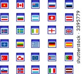 flags | Shutterstock .eps vector #3395779