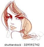 stylish original hand drawn...