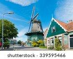"""old windmill """"de bleeke dood"""" ...   Shutterstock . vector #339595466"""