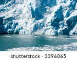 glaciers at the alaska kenai... | Shutterstock . vector #3396065