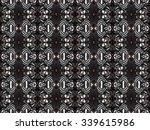 decorative abstract seamless... | Shutterstock . vector #339615986