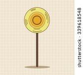 flower theme elements vector eps | Shutterstock .eps vector #339618548