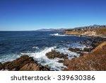 Blue Sea And Sky  Waves...