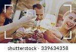 camera focus frame border copy... | Shutterstock . vector #339634358