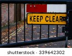 'emergency Access Keep Clear'...