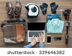freelancer needs mock up on... | Shutterstock . vector #339646382