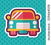 transportation car flat icon... | Shutterstock .eps vector #339664058