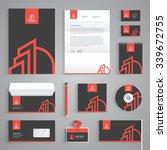 corporate identity branding... | Shutterstock .eps vector #339672755