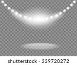 bright spotlights vector design | Shutterstock .eps vector #339720272