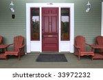 a vintage cottage | Shutterstock . vector #33972232